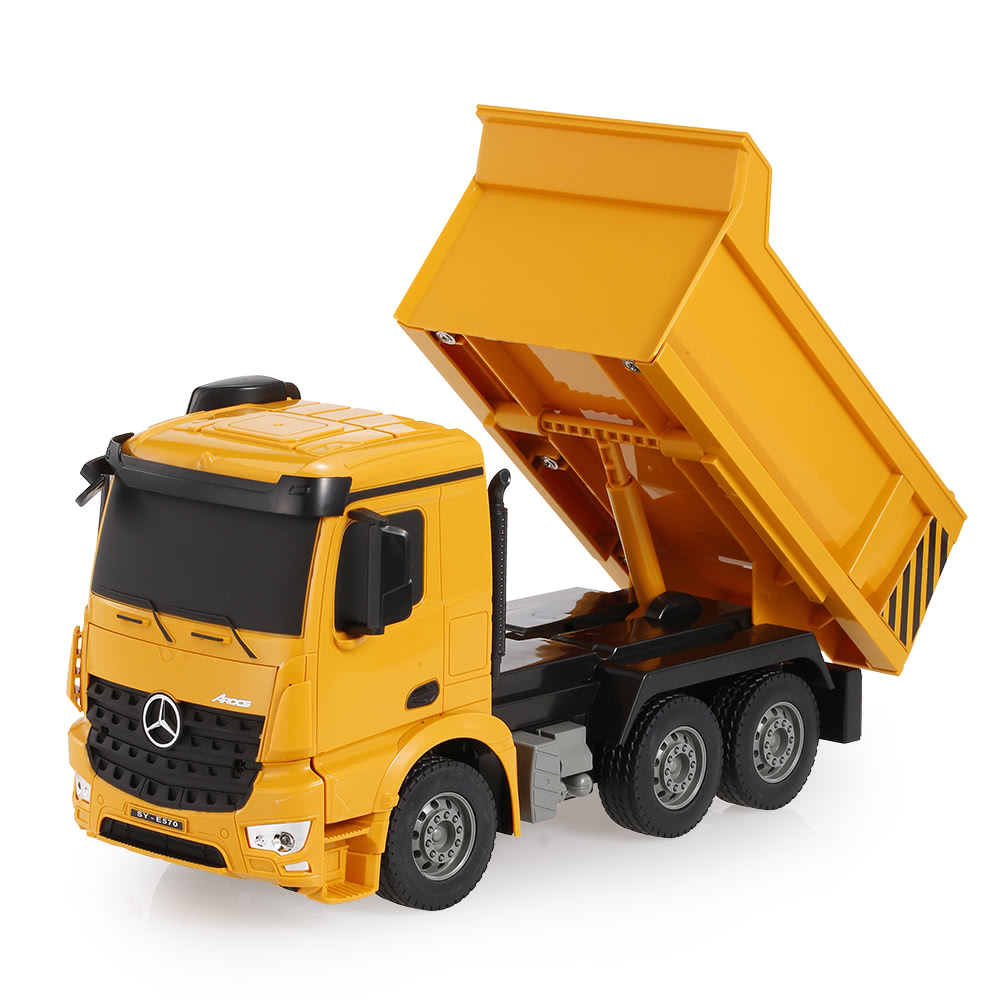 2 4g 1 26 rc engineering dump truck rtr radio control car led
