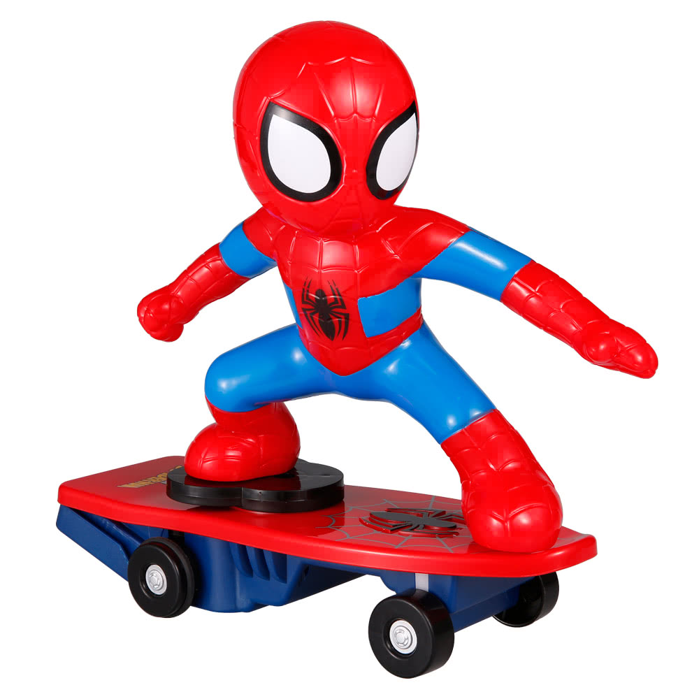 $5 OFF 2.4G 2CH RC Spiderman Skateboard,free shipping $34.99