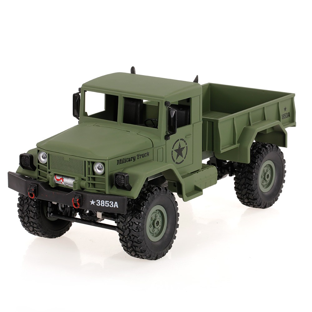 $6 OFF WPL B-1 Off-Road RC Truck Rock Crawler Army Car,free shipping $33.99