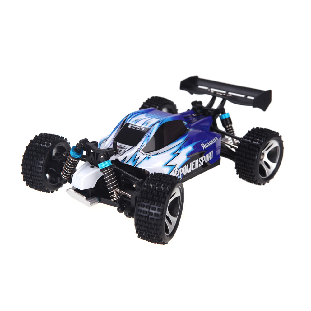 wltoys a959 1 18 1 18 scale 2 4g 4wd rtr off road buggy rc car sales online blue. Black Bedroom Furniture Sets. Home Design Ideas