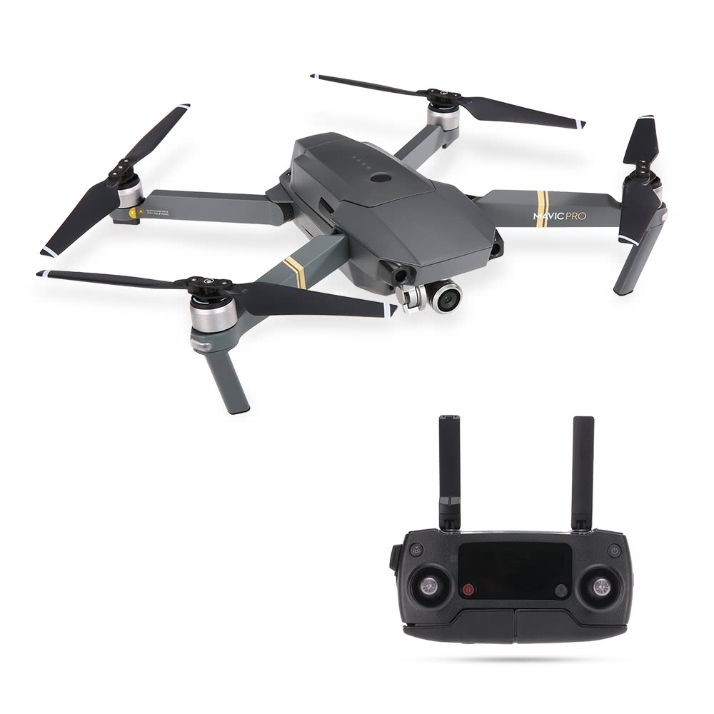 Only €1103.08, eu Original DJI Mavic Pro Foldable Obstacle Avoidance Drone FPV RC - Tomtop.com