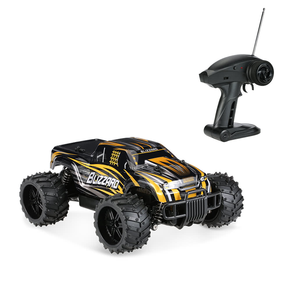 1/16 27Mhz High Speed 20km/h Off-Road RC Monster Truck Remote Control Car Toy | eBay