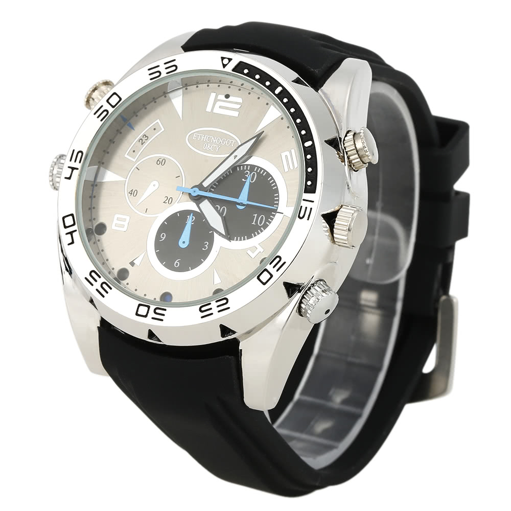 $6 Off 1080P Hidden Spy Wrist Waterproof Watch,free shipping $20.99