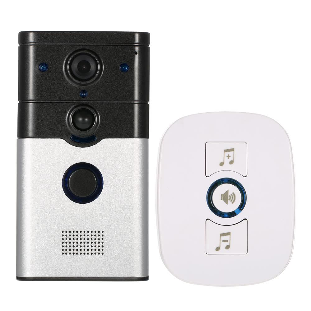 $10 OFF 720P Wireless Phone Visual Intercom Doorbell,free shipping $55.99