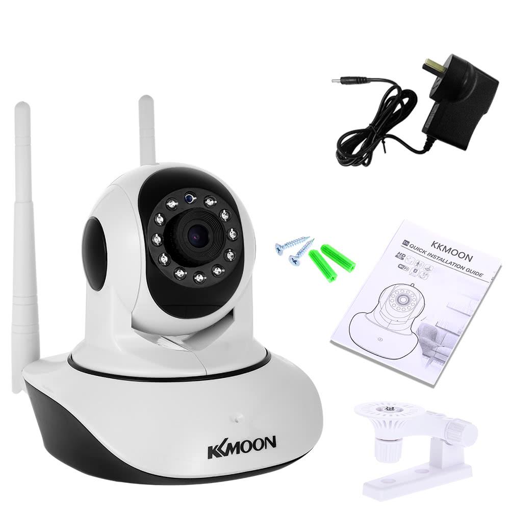 $5 OFF KKmoon 1080P Wireless IP Camera Baby Monitor White,free shipping $34.99
