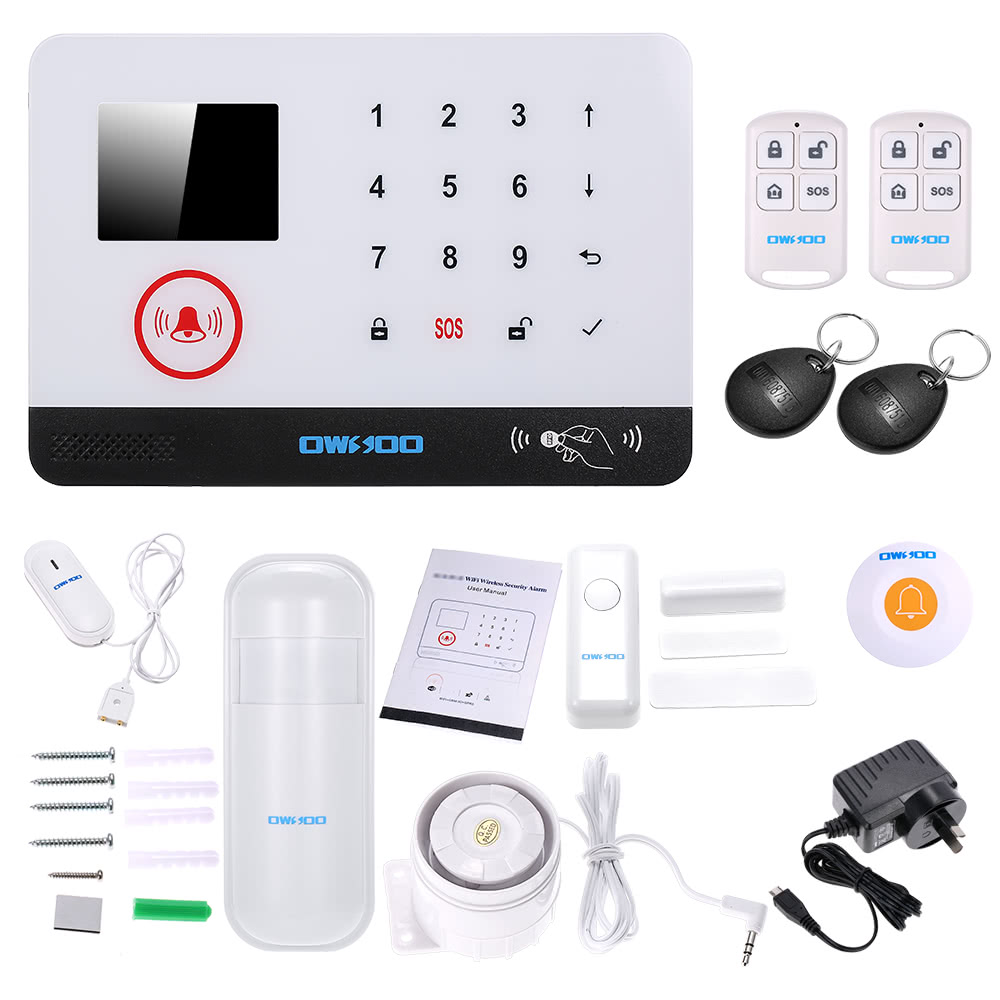 $6 OFF OWSOO Alarm Security System,free shipping $61.99(Code:SDAS06)