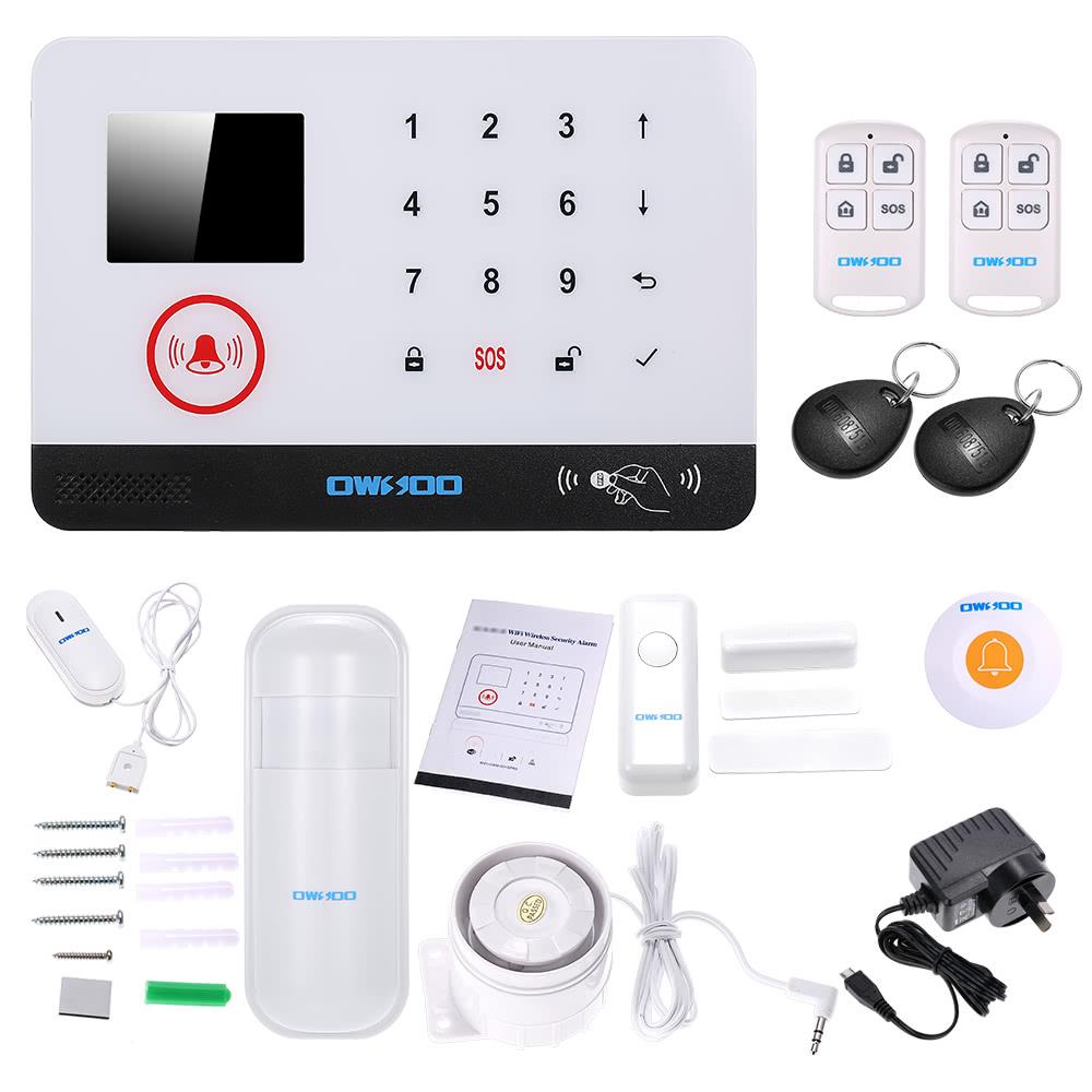 $6 OFF OWSOO 433MHz WIFI Door Sensor,free shipping $61.99
