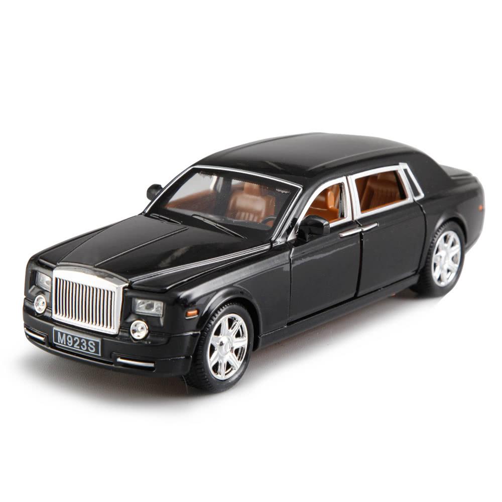 $3 OFF 1:24 Alloy Diecast Car Model Rolls Royce,free shipping $16.99