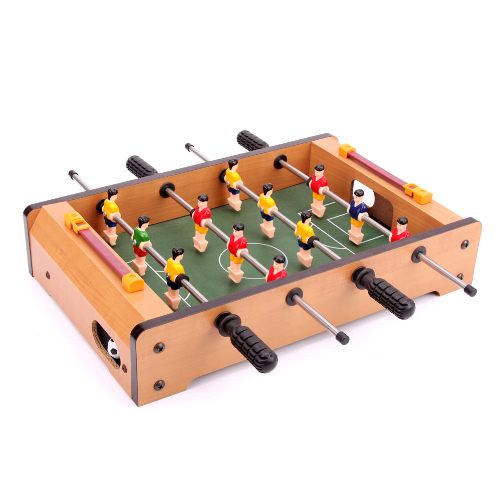 34 * 22 * 7cm HUANGGUAN TOYS HG25 Mini Foosball Table Soccer Sales Online  #1   Tomtop.com