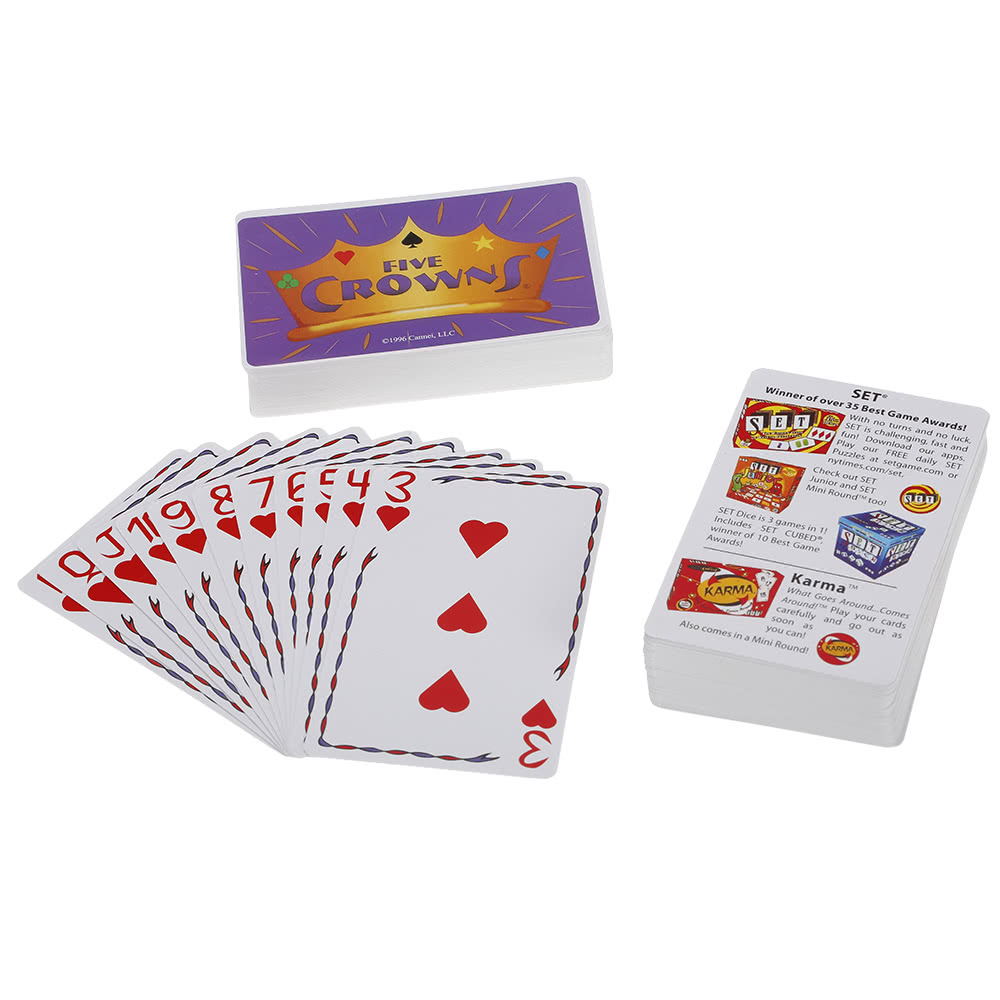 $2 OFF Five Crowns Card Game Party Play Cards,free shipping $7.99