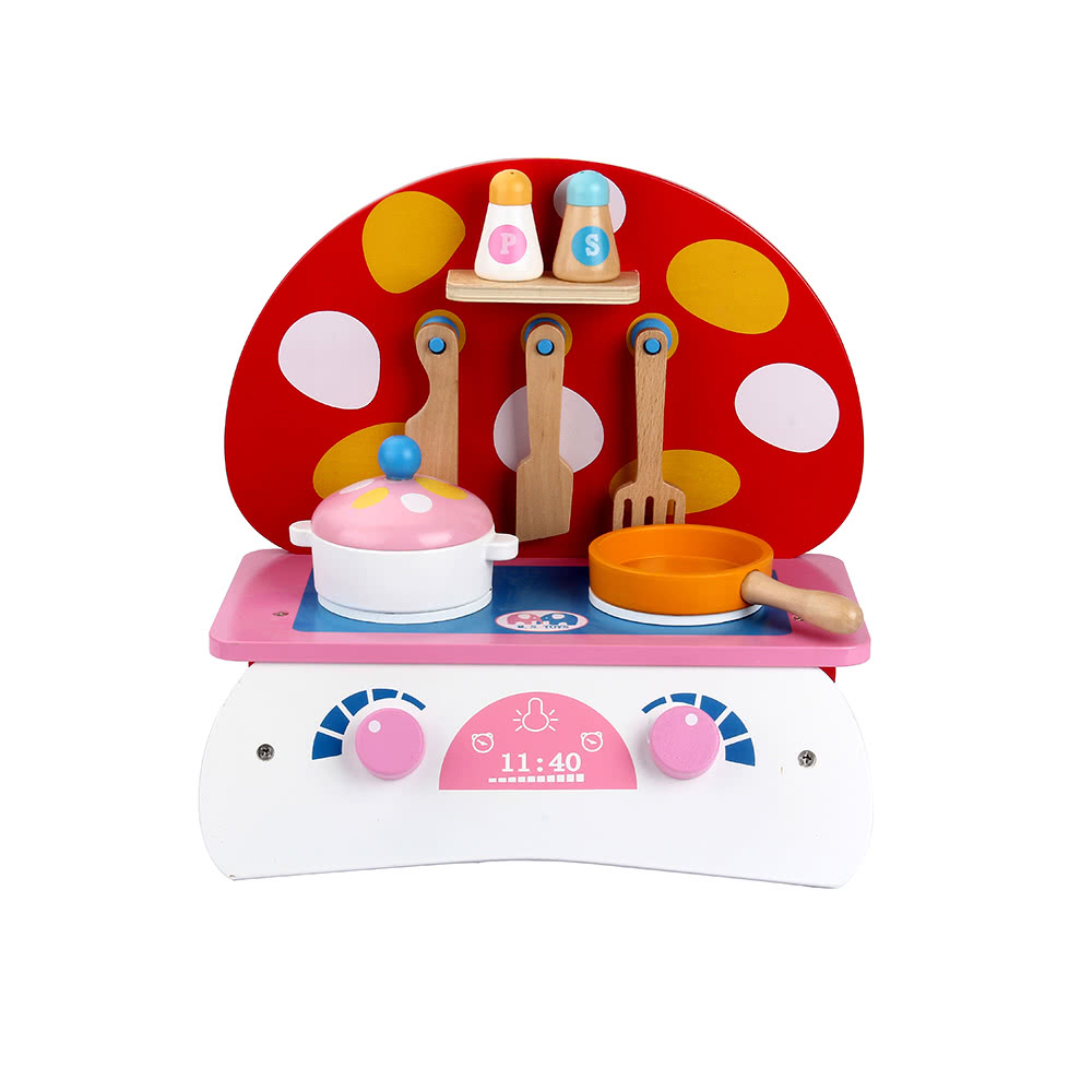 Play kitchen clip art - Wooden Kitchen Toy Food Cooking Toys Baby Pretend Play A Small Sales Online Tomtop Com