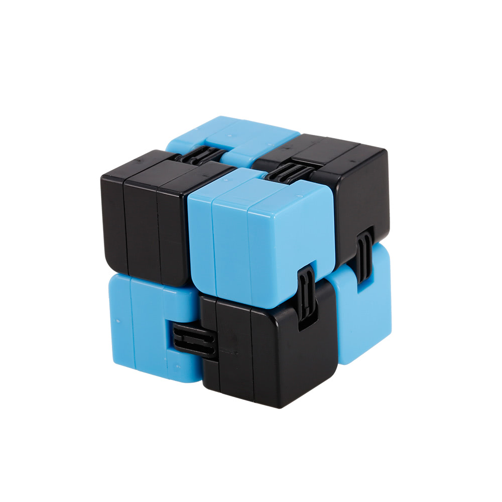 infinity cube. infinite cube fidget in style pressure reduction toy infinity turn spin edc killing time r