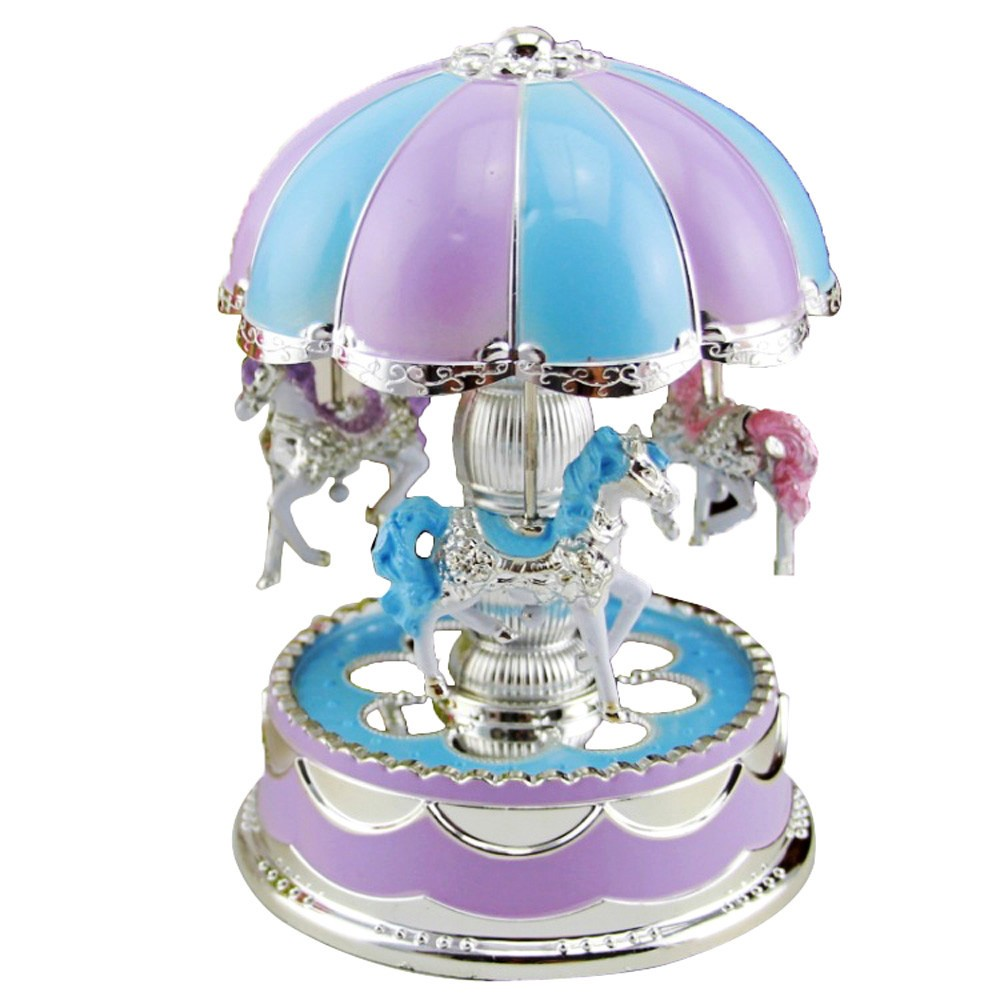 $1.04 OFF Romantic LED Light Music Box,free shipping $6.95