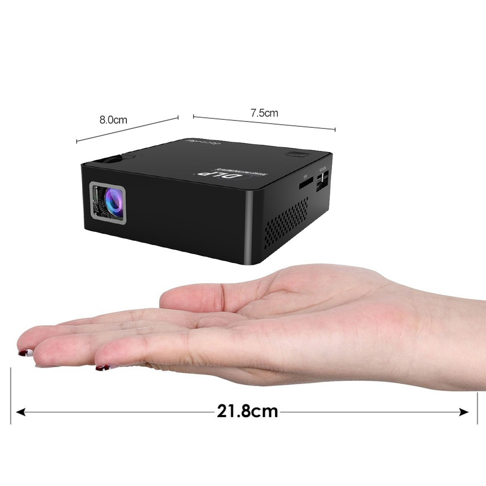 $10 OFF Docooler P2 DLP 1080P Projector,free shipping $121.99