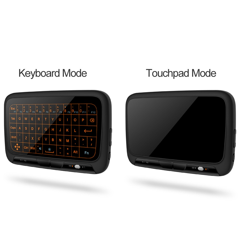 $3.5 OFF H18+ 2.4GHz Backlight Keyboard,free shipping $15.49
