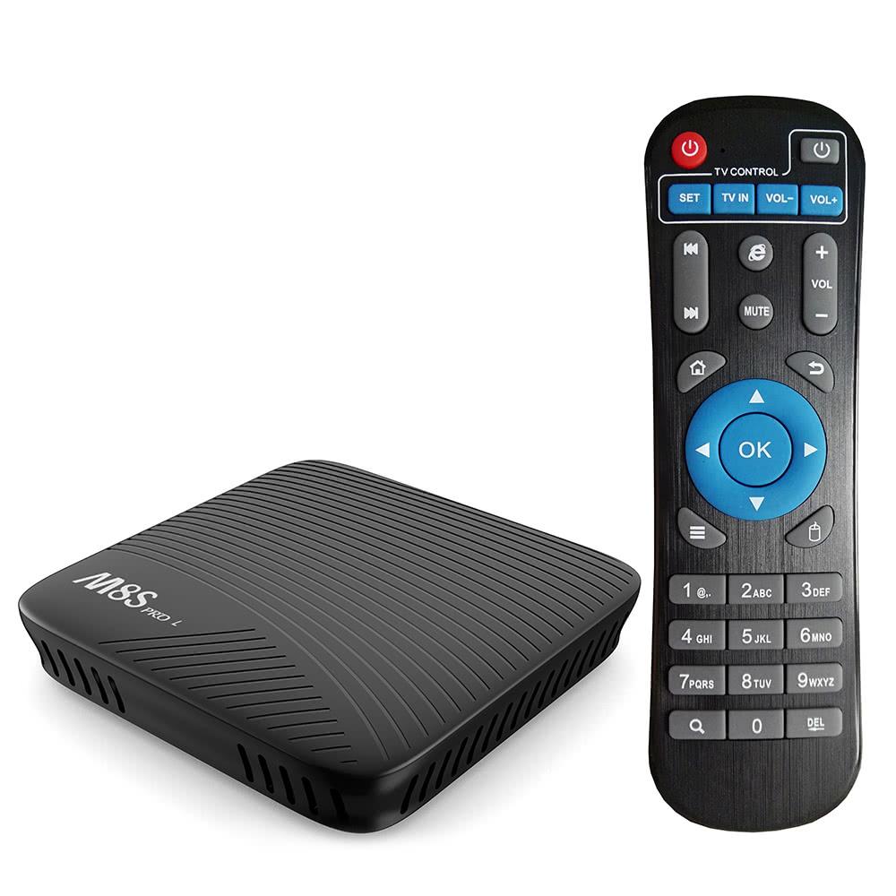 $5 OFF MECOOL M8S PRO L TV Box Amlogic S912,free shipping $64.99