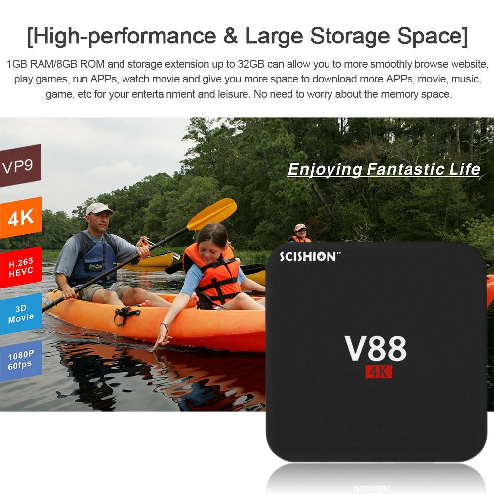 Scishion V88 Android TV 4K comprar barato al precio minimo de oferta con cupón descuento. ✅ Con envío GRATIS ✅ Libre de aduanas para España.
