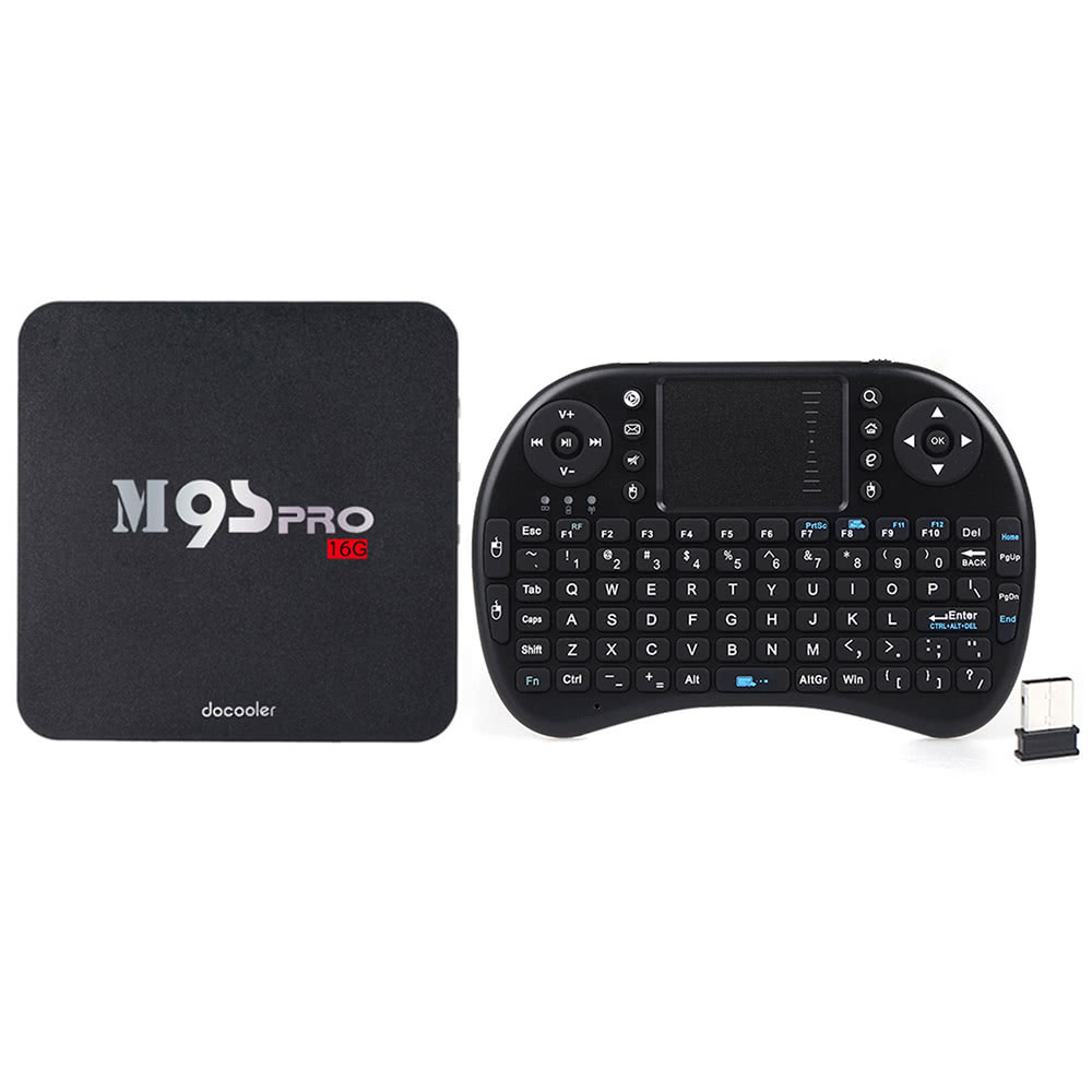 Docooler M9S-PRO 16GB con teclado inalámbrico por 43 euros