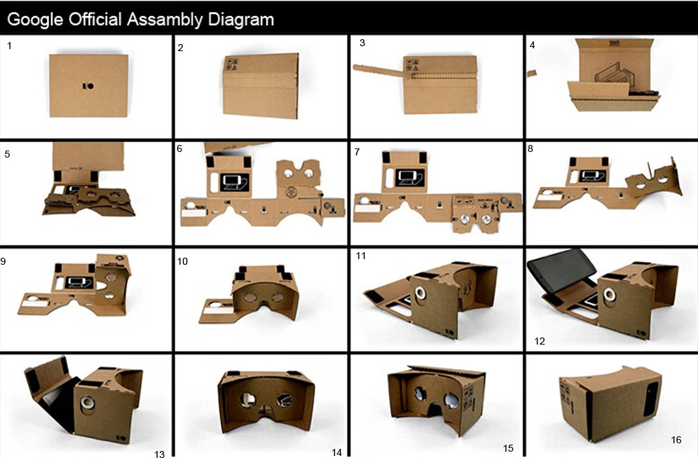 Как сделать очки виртуальной реальности для телефона 297