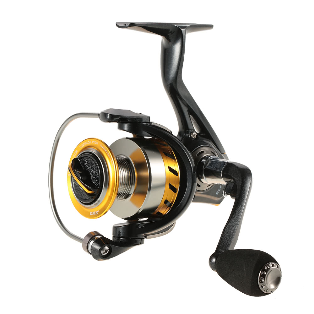 9+1 Ball Bearings Spinning Reel Lightweight Ultra Smooth Spinning Fishing Reel Left/Right Interchangeable Collapsible Handle 2000/3000/4000/5000 Series