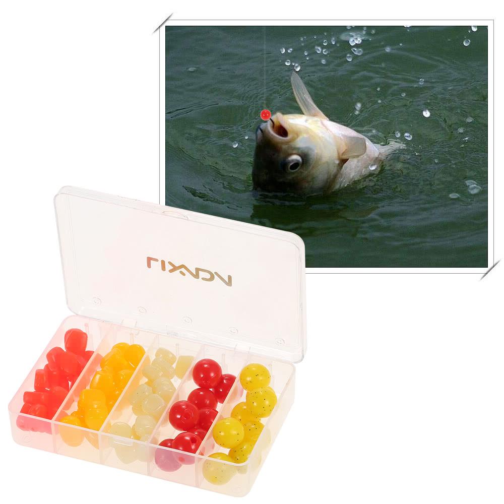lixada 76pcs box karpfen k der schwimmende fischen k der. Black Bedroom Furniture Sets. Home Design Ideas