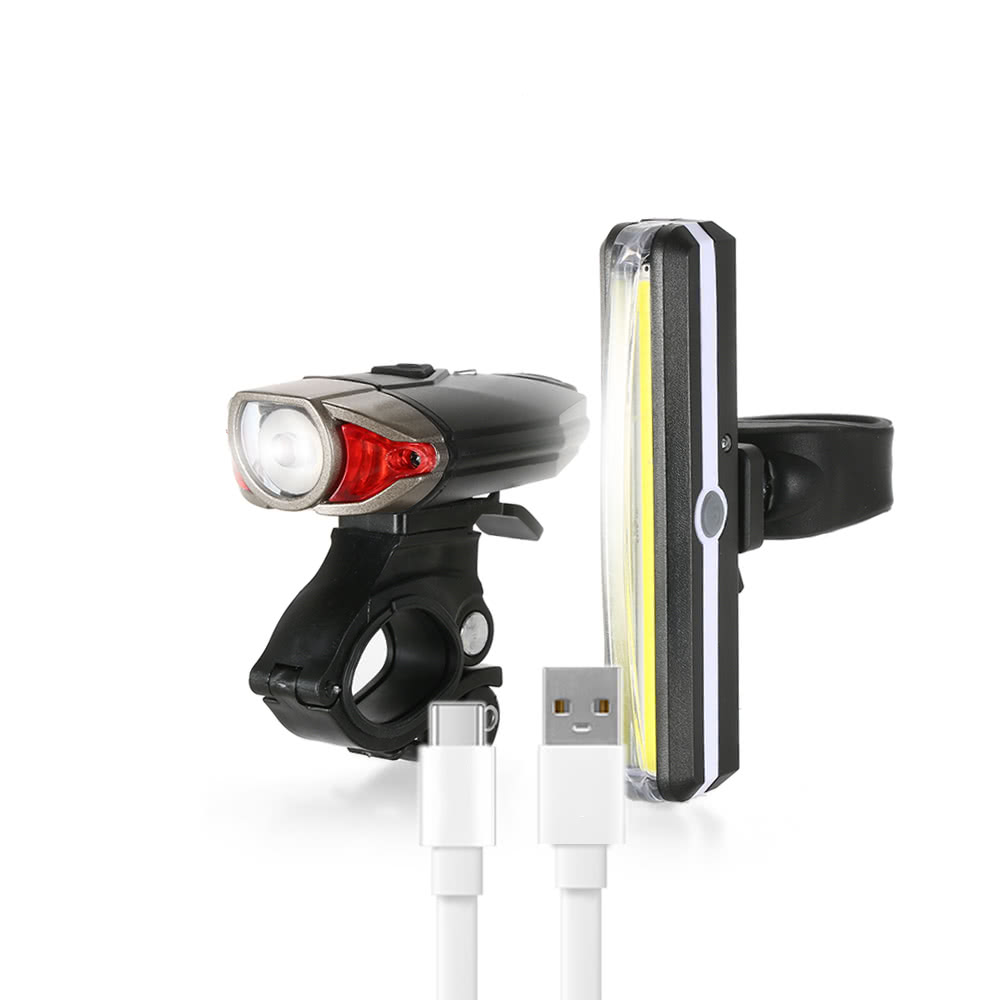 $4 OFF Lixada USB Rechargeable Bike Light,free shipping $15.43