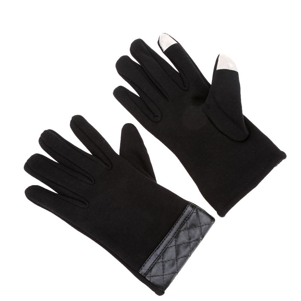 cran tactile hiver gants sports de plein air cran tactile noir. Black Bedroom Furniture Sets. Home Design Ideas