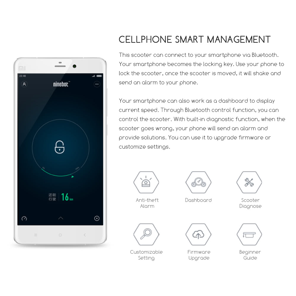 Oferta Xiaomi Ninebot 2 por 515 euros (Cupón descuento) 1 xiaomi ninebot 2