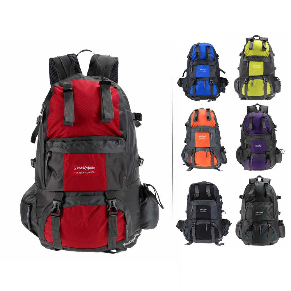 $5 OFF 50L Outdoor Sport Backpack-Gray,free shipping from US Warehouse $14.99(Code:50LOFF5) thumbnail