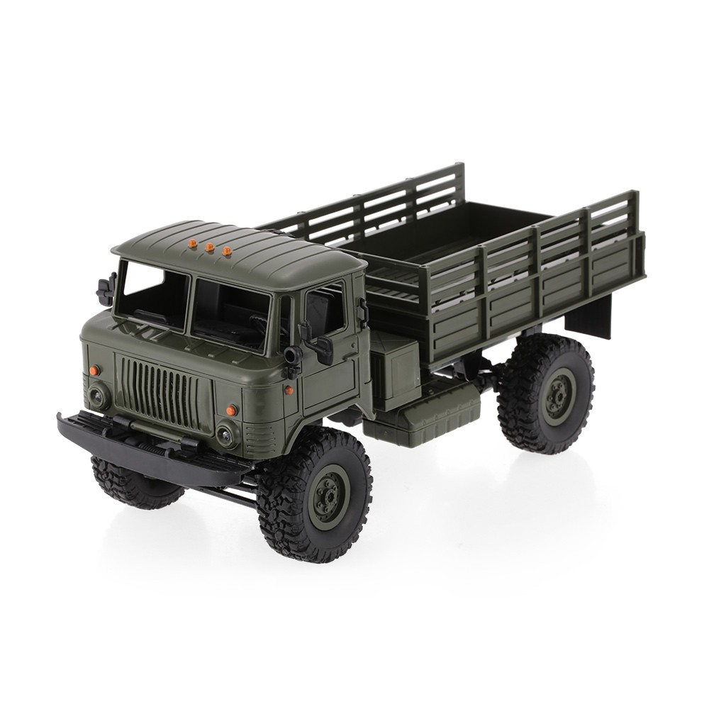 $7 OFF WPL B-24 1/16 2.4GHz Military Truck,free shipping $34.99