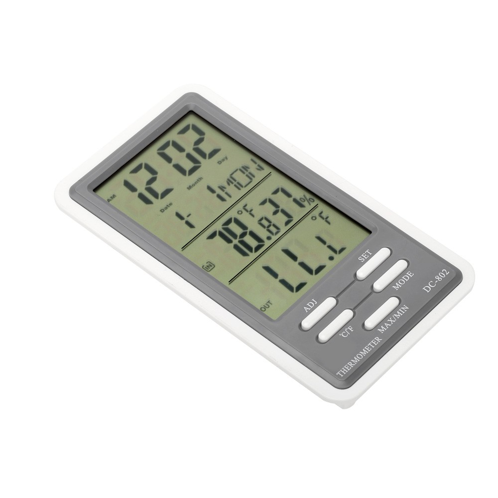 Digital lcd term metro higr metro temperatura humedad for Medidor de temperatura y humedad digital