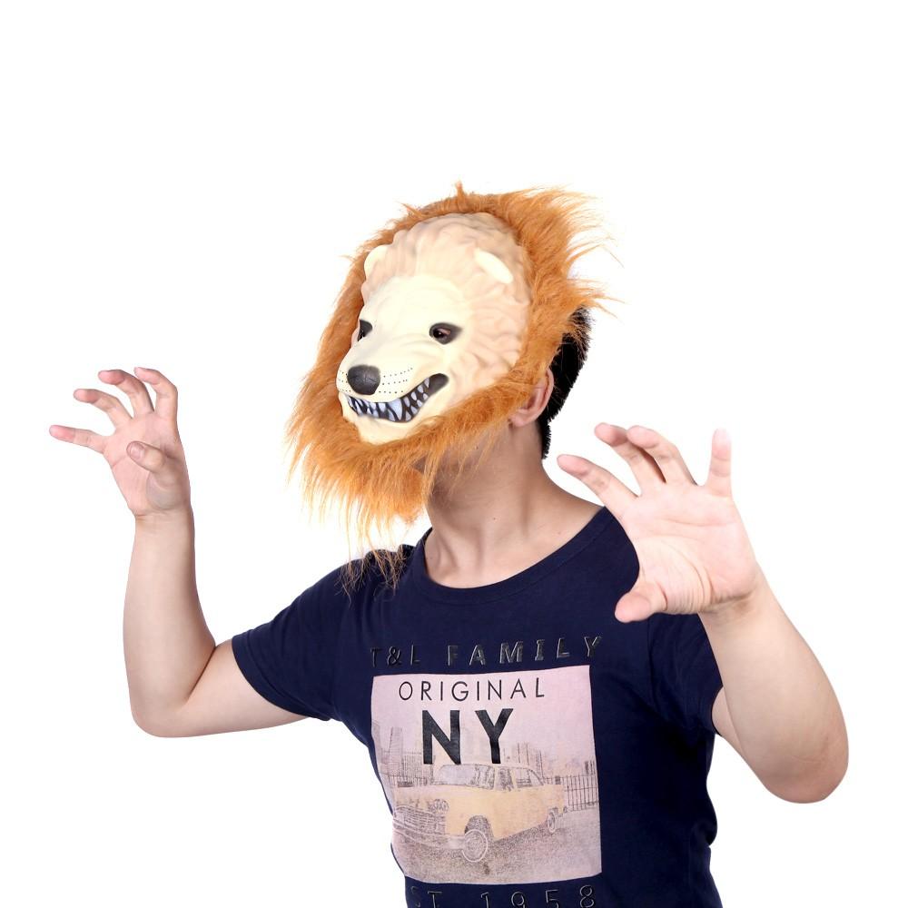 Halloween Great Lion King Mask of Terror Animal Dress Up Sale ...