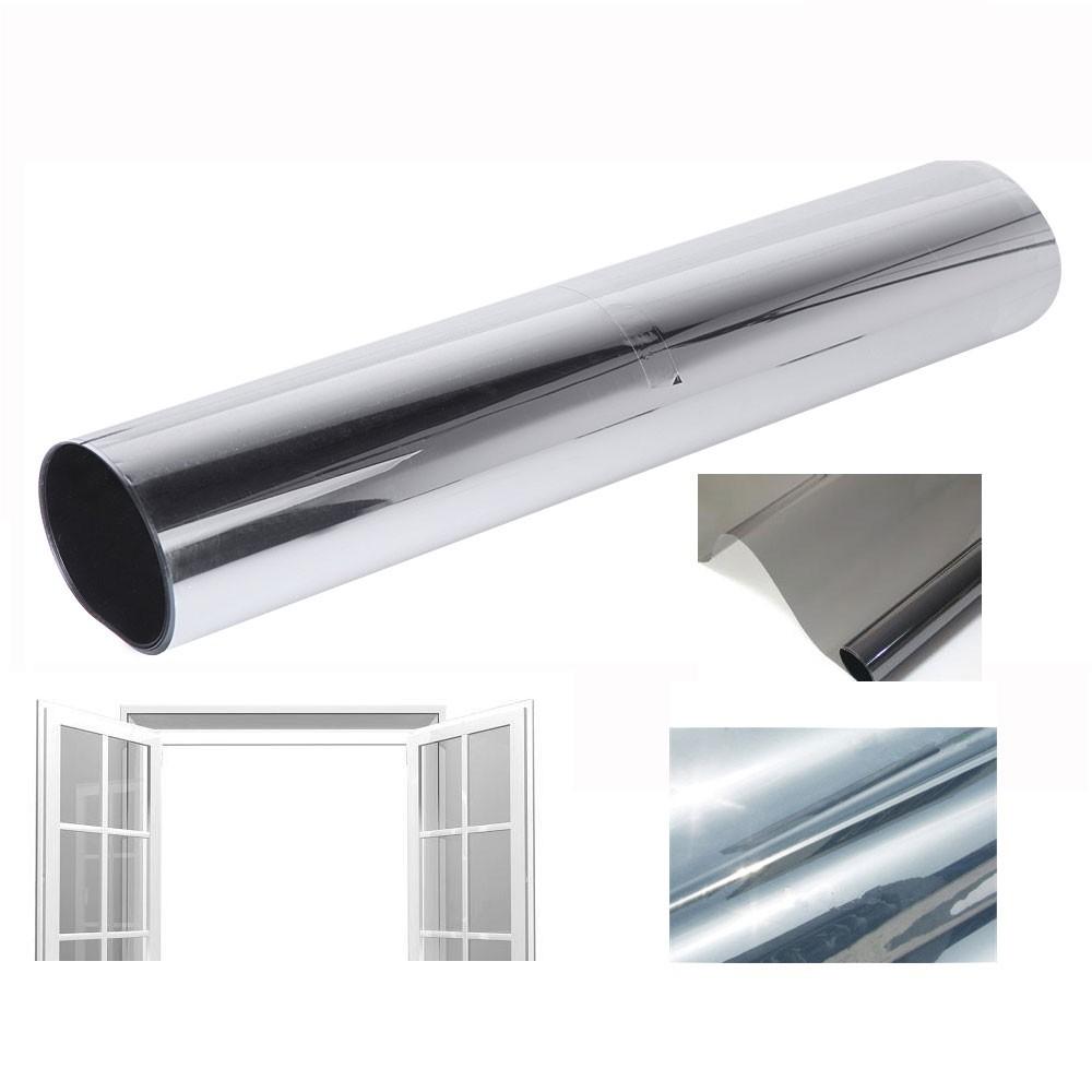 Film de vitrage pour isolation domestique solaire teinte for Isolation fenetre film