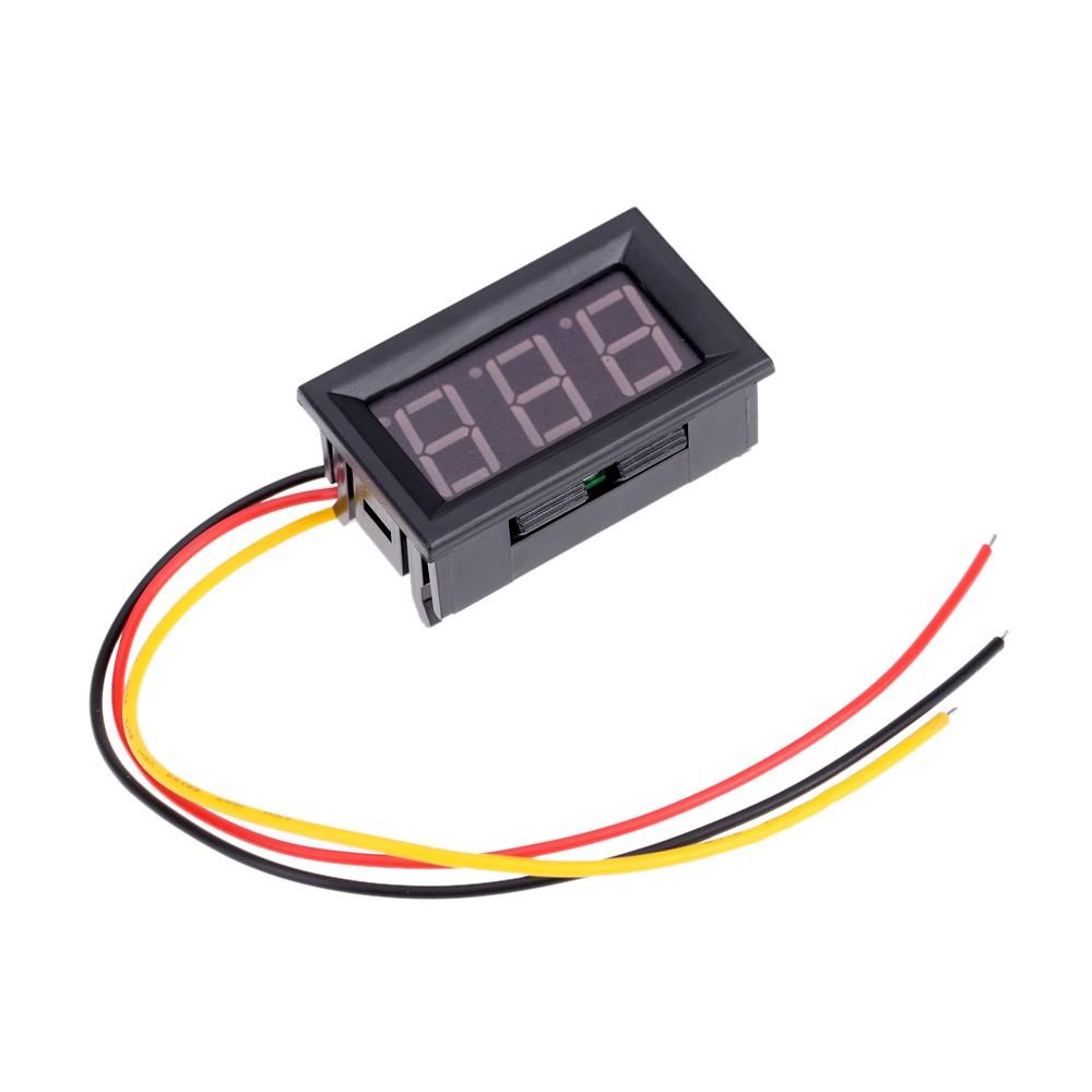 45-30V MiNi Digital LED Car Voltmeter Voltage Volt