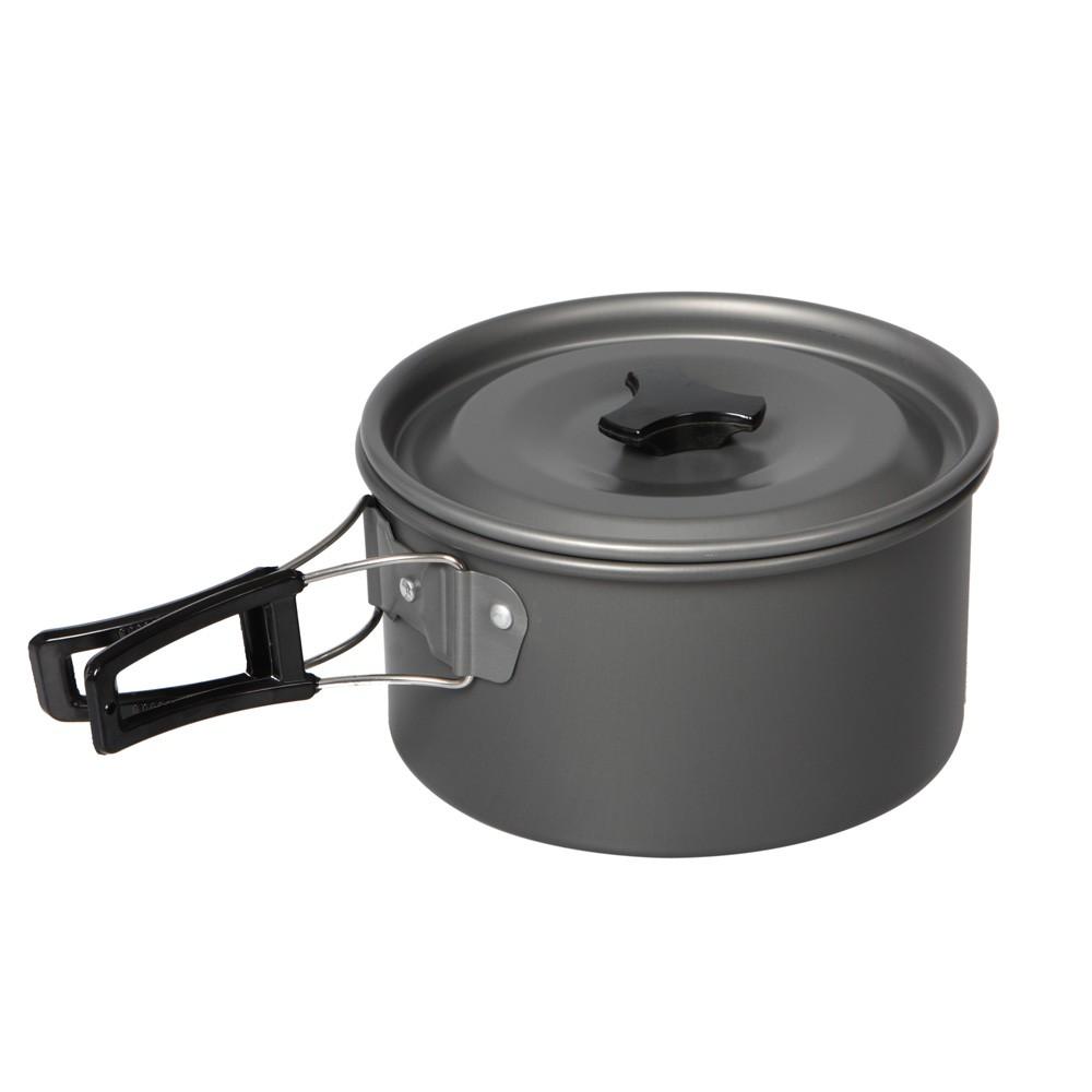 Portatile persone anodizzato alluminio pentole cucina set - Cucina portatile ...