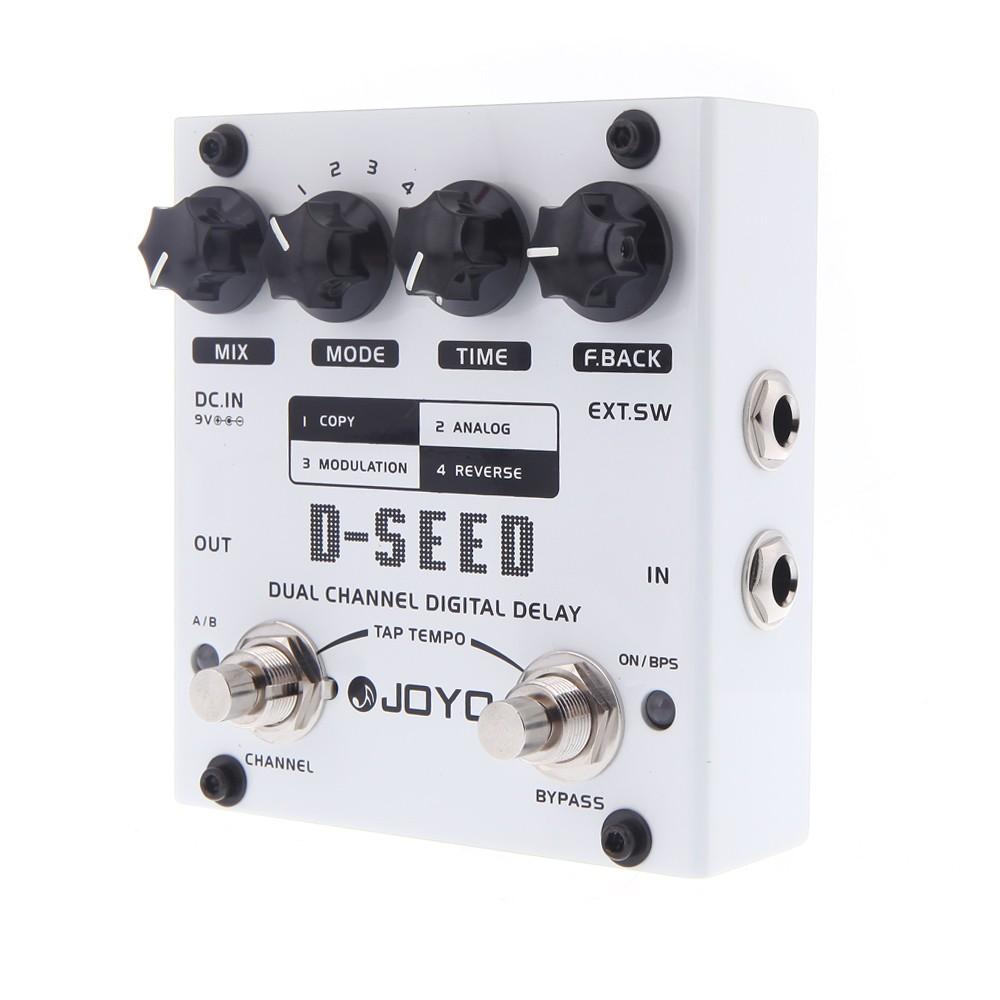 JOYO D-SEED Dual Channel Digital Delay Guitar Effect Pedal ...