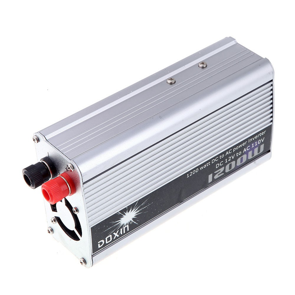 1200W WATT DC 12V to AC 110V Portable Car Power Inverter