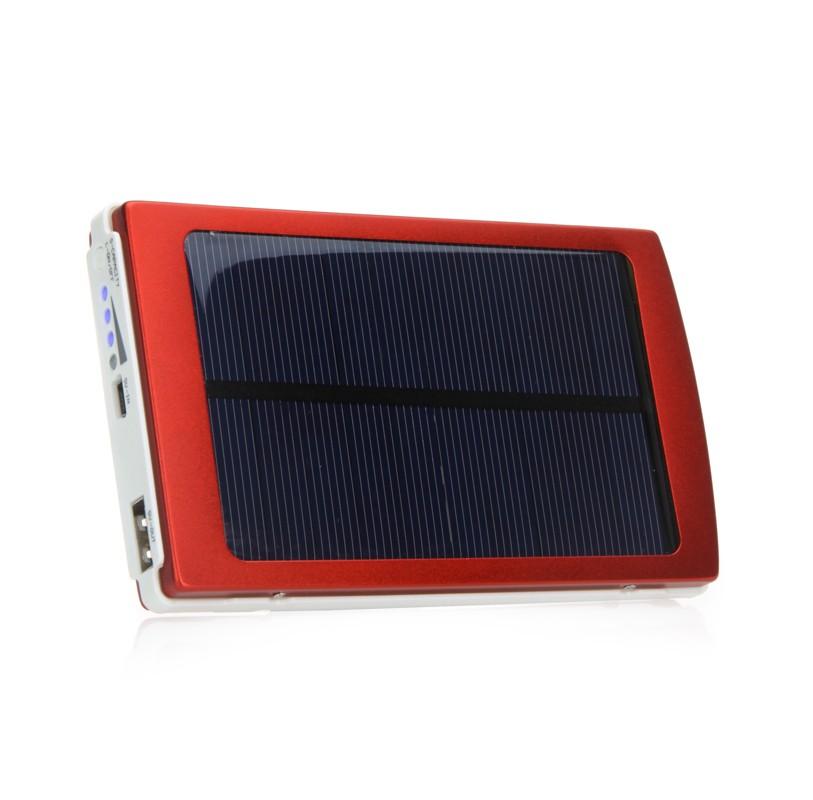 10000mah universel panneau solaire chargeur de secours avec rouge. Black Bedroom Furniture Sets. Home Design Ideas