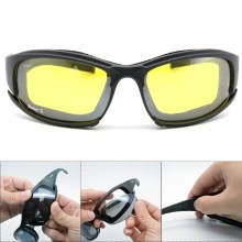 86b6d10e222 10Pcs Daisy X7 Military Goggles Bulletproof Army Polarized Sunglasses 4 Lens  Men Hunting Shooting Tactical Eyewear