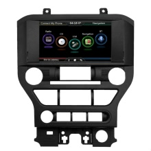 """8"""" Large Touch Screen 720P Car GPS Navigation Multimedia Player 2 Din Display Upgrade Special Design for Ford Mustang 2015 2016+Free Map +Free Card"""