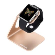 KKmoon Зарядная Подставка Держатель Док-станция из Алюминиевого Сплава для Apple Watch iWatch 38mm 42mm Всех Версий Эко-содружественный Материал Стильный Легкий Портативный Прочный