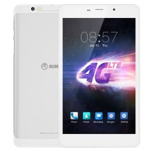 ALLDOCUBE T8 Plus Tablet 4G LTE Phablet Phone 8.0inch IPS Screen 1920*1200px MTK8783 ARM Cortex-A53 64-bit Octa-core Processor 1.3GHz 2GB RAM 16GB ROM Android 5.1 OS 2.0MP+5.0MP Cameras 3800mAh Battery Dual Sim Bluetooth WiFi Tablet PC