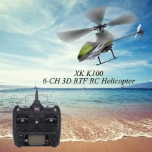 Original XK Falcon K100 6CH 3D 6G System RTF RC Helicopter