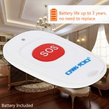 OWSOO SOS Wireless Emergency Call Button Home Security Alarm System
