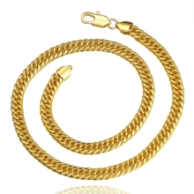N840-A Wholesale Nickle Free Antiallergic 18K Real Gold Plated Necklace pendants New Fashion Jewelry