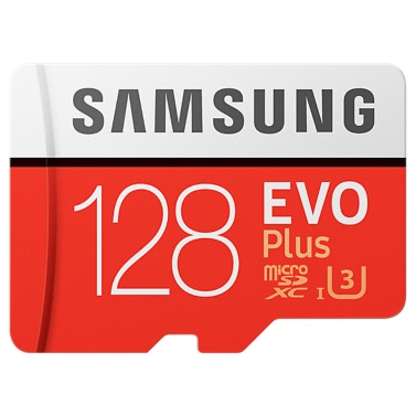 Samsung Memory 128GB EVO Plus MicroSDXC 100MB/s UHS-I (U3) Class 10 TF Flash Memory Card MB-MC128GA/CN High Speed for Phone Tablet Cemara