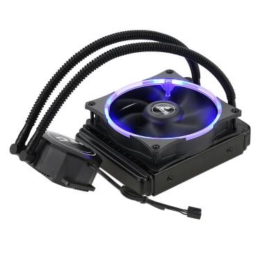 VTG120 Liquid Freezer Water Liquid Cooling System CPU Cooler Fluid Dynamic Bearing 120mm Fan with Blue LED Light