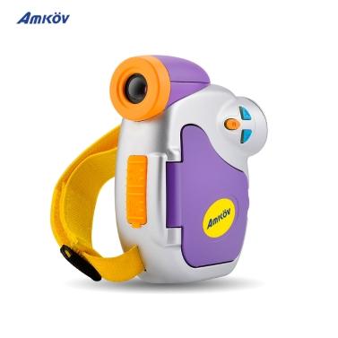 Amkov Câmera de vídeo digital para criança crianças de 1,44 polegadas DV-C7 1080P