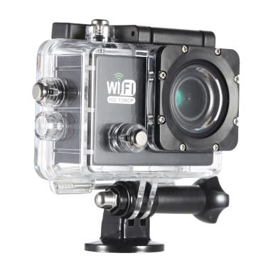 SJ6000 Full HD Wifi 12MP 1080P 30FPS 140 Degree Wide Lens Waterproof Action Camera
