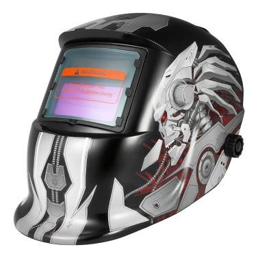 Профессиональная солнечная энергия Автоматическое затемнение Сварочный шлем Сварочный сварочный аппарат TIG MIG Шлифовальная маска Робот